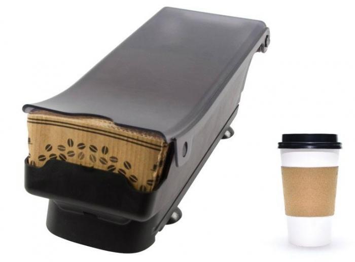 disributeur manchons isolant pour gobelets de boissons chaudes san jamar optimum ds ods. Black Bedroom Furniture Sets. Home Design Ideas