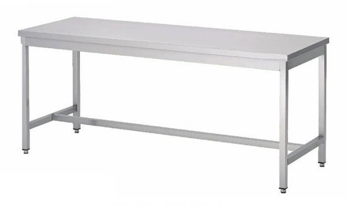 pied de table central inox amazing table inox centrale xmm with pied de table central inox. Black Bedroom Furniture Sets. Home Design Ideas